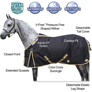 ai14084 StormShield® VERSATILITY Original Turnout - Closed Front Heavyweight
