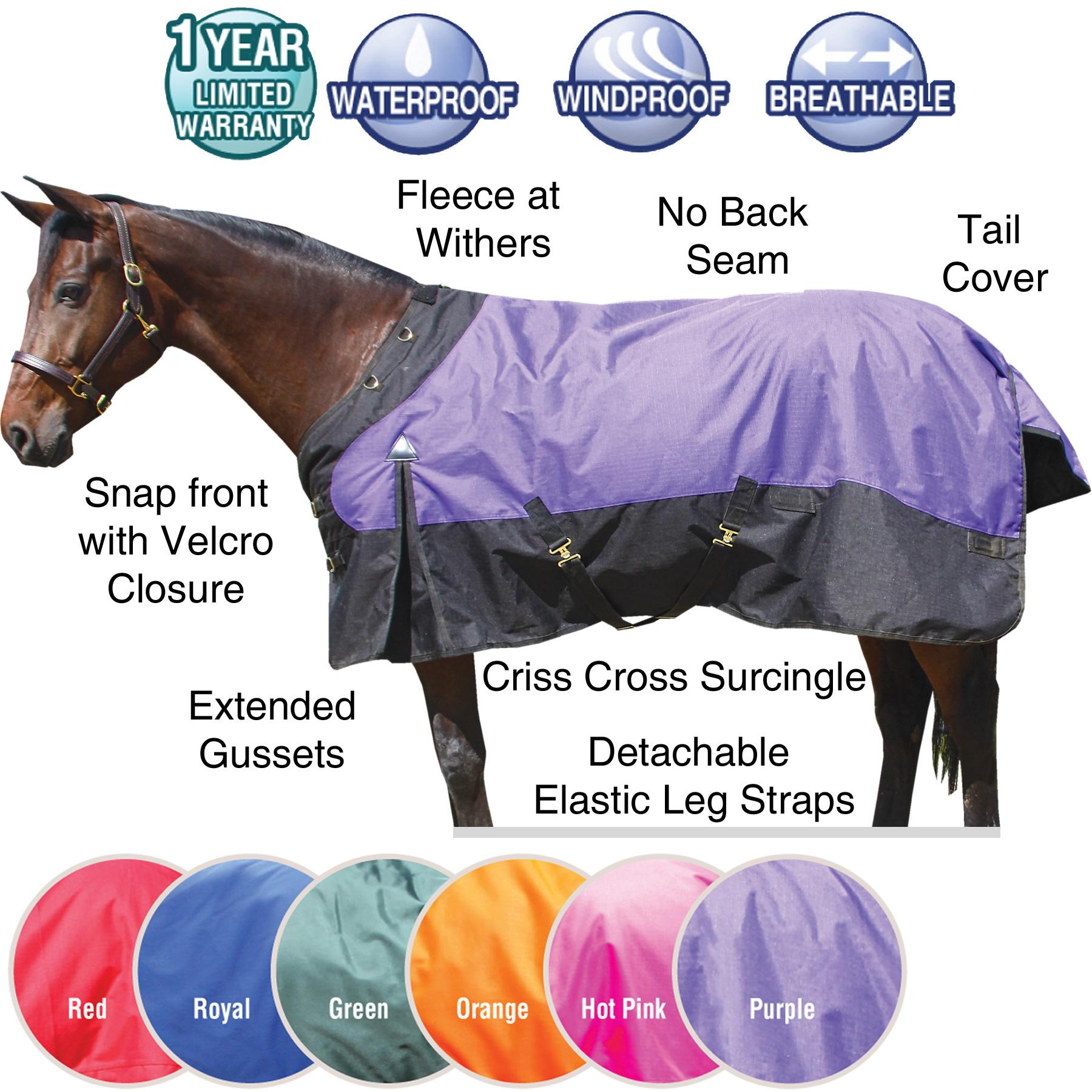 ai31956 StormShield® CONTOUR COLLAR Classic Turnout Blankets