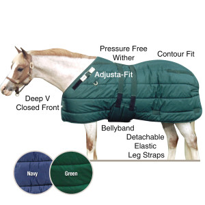 ai10467 Adjusta-Fit® Pony Bellyband Stable Blankets
