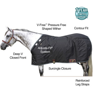 ai14996 Tekno-Fleece® V-Free® Leg Strap Stable Blanket - Lightweight