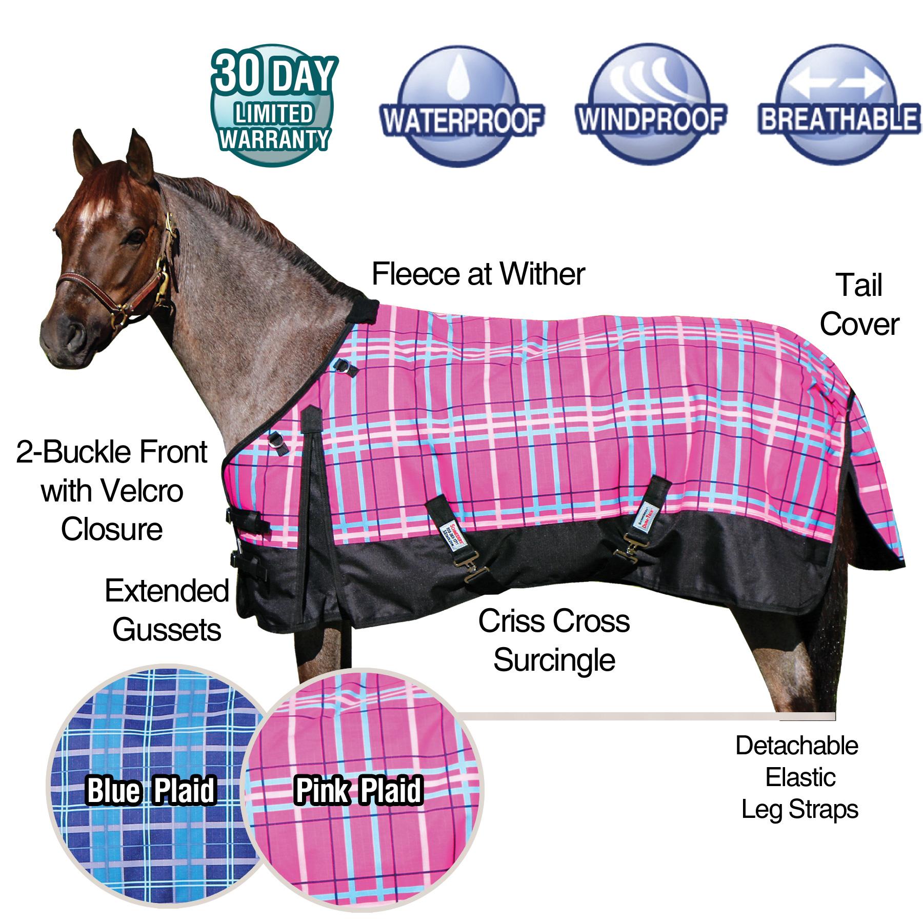 ai33457 Dura-Tech® VIKING Pony Print Turnouts 220gm