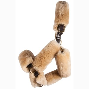 ai36406 Merino Sheepskin 9pc Halter Set1