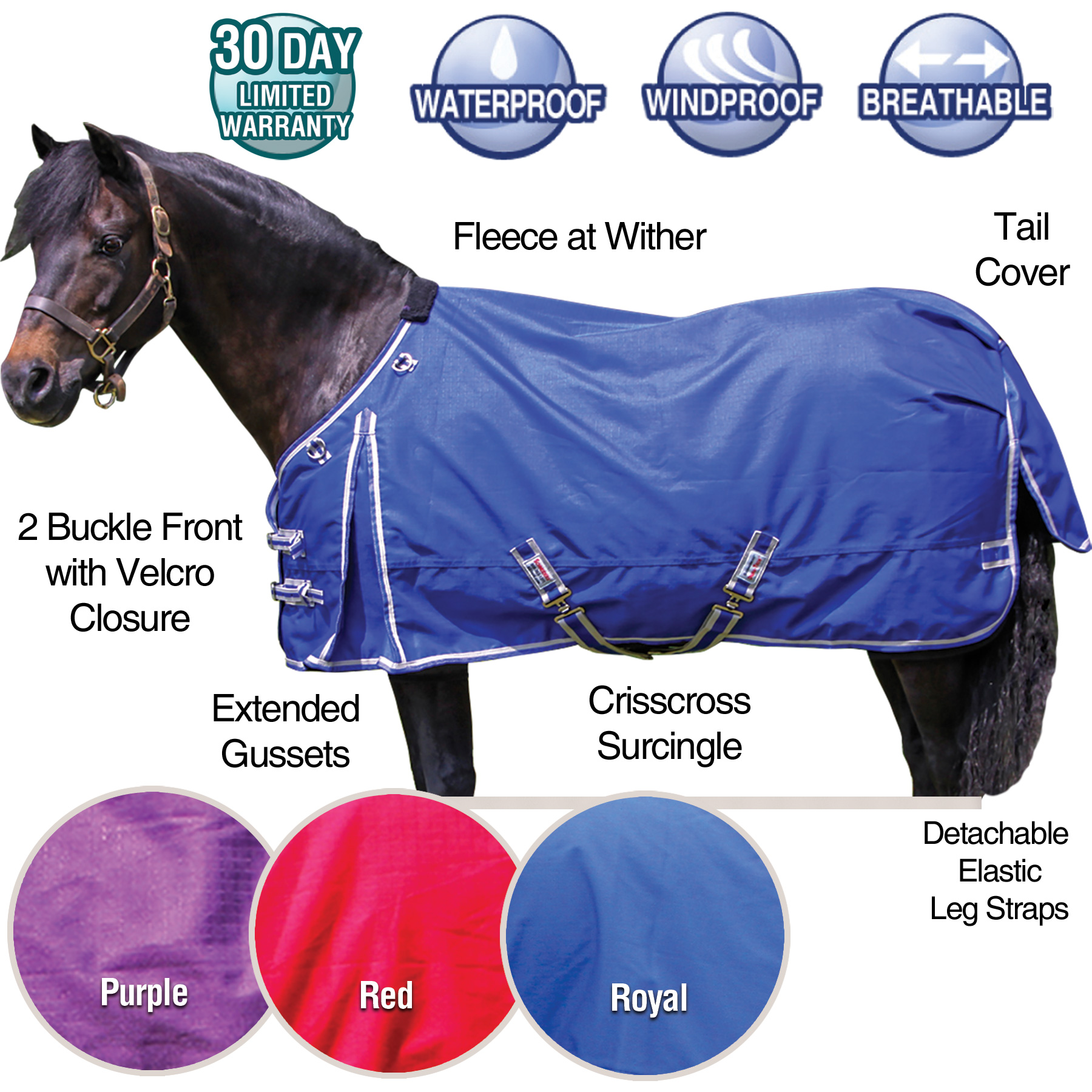ai36561 Dura-Tech® VIKING Solid Pony Turnouts sheet