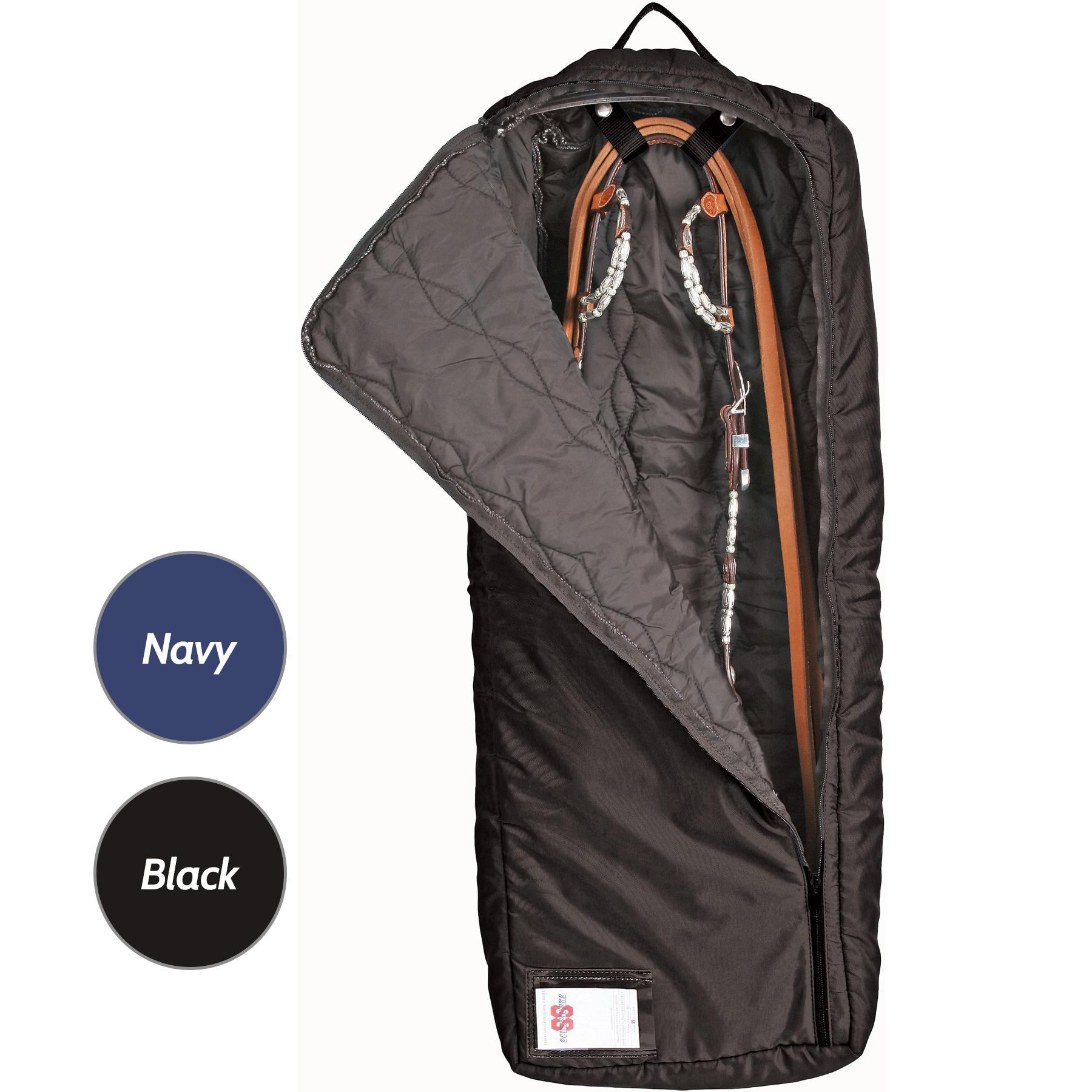 ai18049 Dura-Tech® Supreme Extra Large Bridle-Halter Bag-black